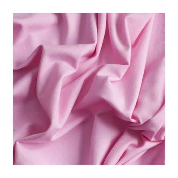 Rózsaszín - egyszínű pamutjersey