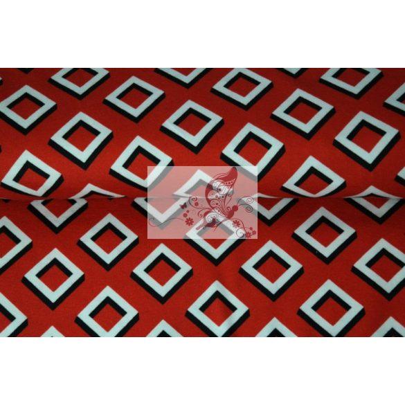 Piros, fekete, fehér - négyzetek