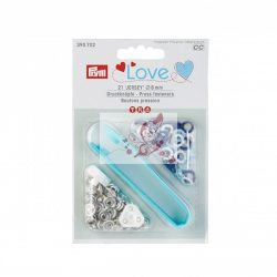 Prym Love Jersey patentozó szett 8 mm-es (kék)