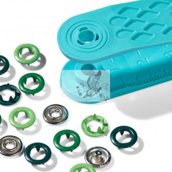 Prym Love Jersey patentozó szett 8 mm-es (zöld)