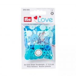 Prym love műanyag patent - kék