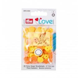 Prym Love patent - sárga