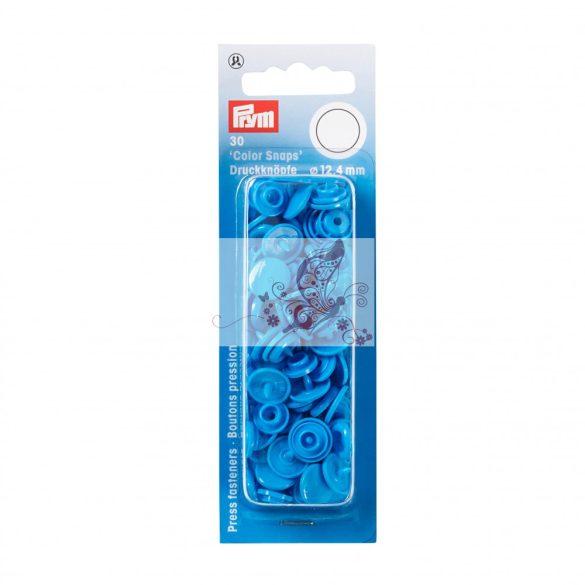 Műanyag patent - élénk kék