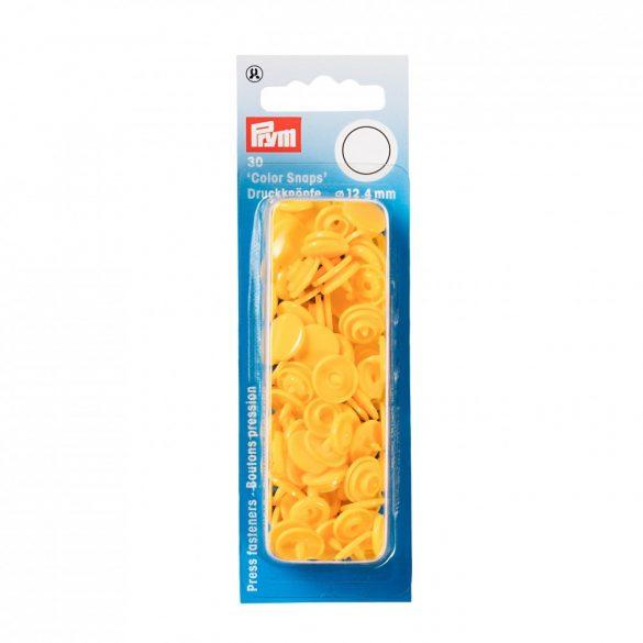 Műanyag patent - sárga