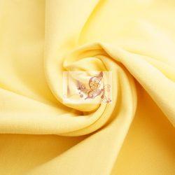 Halvány sárga passzé (GOTS)