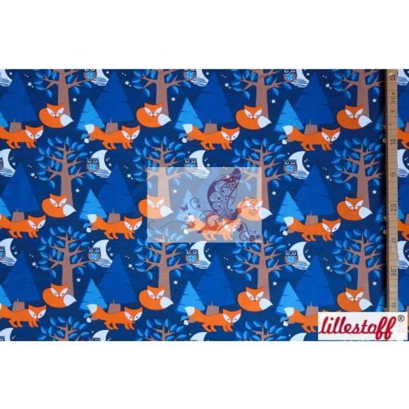 Éjszakai rókák - mintás pamutjersey