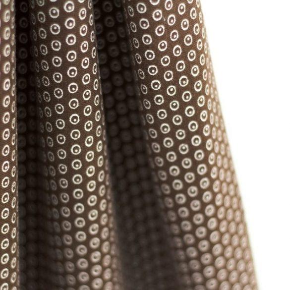 Kuller - csokoládé - mintás biopamut sweat (hurkolt hátuljú)