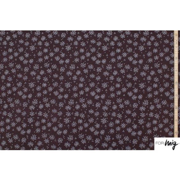 Tengeri virágok kiegészítő- mintás pamutjersey