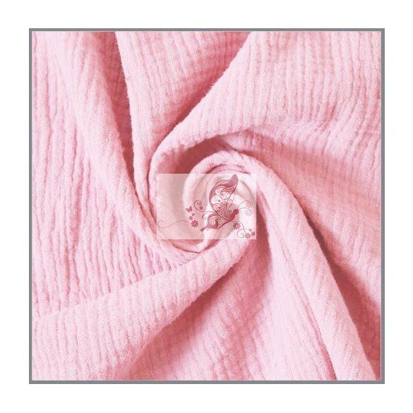Világos rózsaszín dupla géz