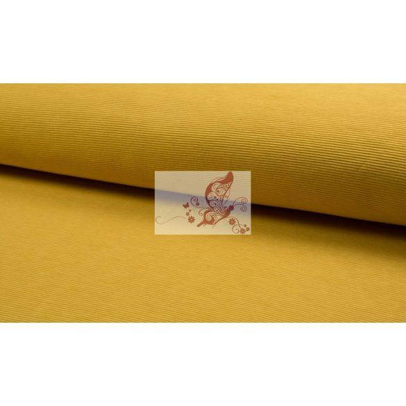 Bordázott jersey - sárga