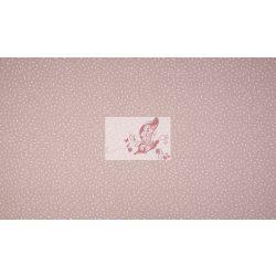 Konfetti - régi rózsaszínű pamut jersey