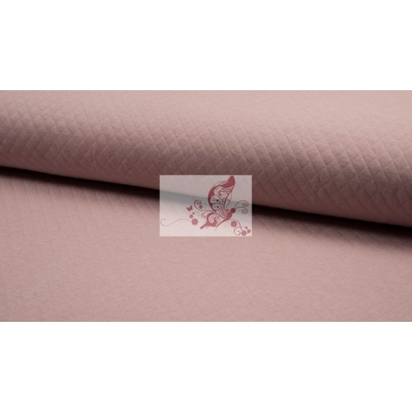 Füstös rózsaszín steppelt pamut