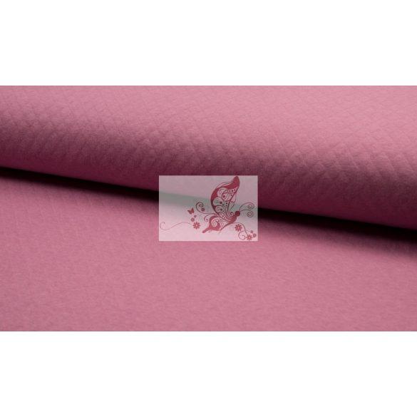 Régi rózsaszín steppelt pamut