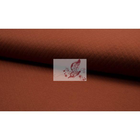 Rozsda színű steppelt pamut anyag
