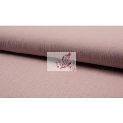 Tripla géz - fakó rózsaszín