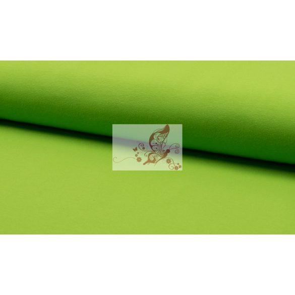 Lime - egyszínű pamut jersey