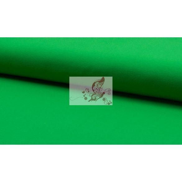 Élénk zöld - egyszínű pamutjersey