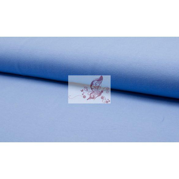 Kék színű pamut jersey