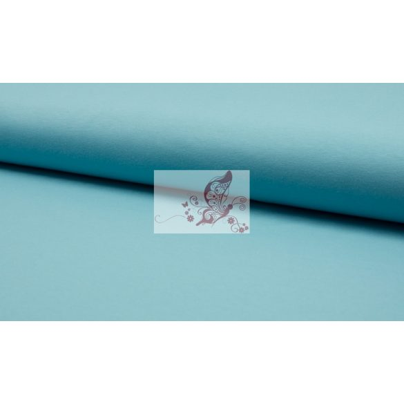 Dusty blue - világos kék pamutjersey