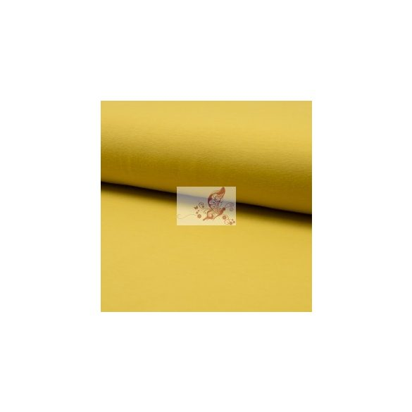 Curry - egyszínű pamutjersey