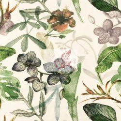 Egy szelet természet - mintás pamut jersey