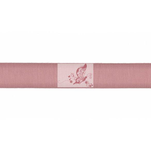 Rugalmas ferdepánt - füstös rózsaszín