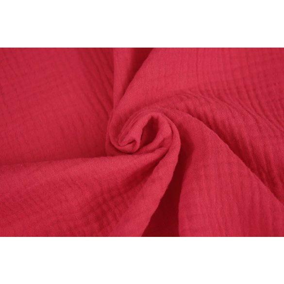 Piros színű dupla géz